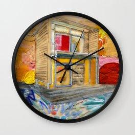 House of Endless Summer Wall Clock