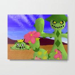 Desert Scenery Metal Print
