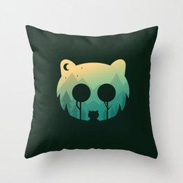 Two Little Bears Throw Pillow