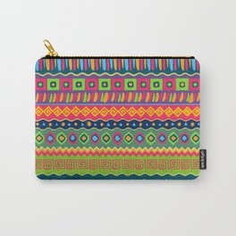 African abstract geometric pattern Carry-All Pouch