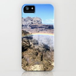 Rainblowhole iPhone Case