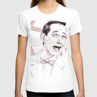 pee wee T-shirts featuring Pee Wee Herman by Aaron Bir by Aaron Bir