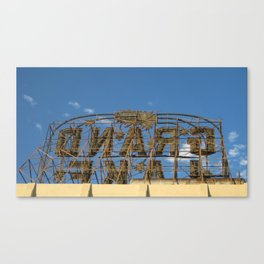 Grand Lake Theater Canvas Print