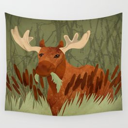 Moose Munch Wall Tapestry