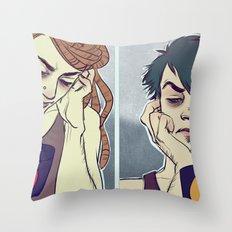thisaintcoffee Throw Pillow
