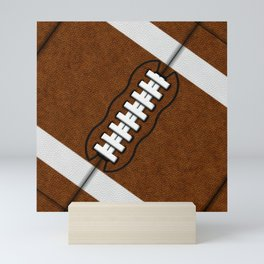 Fantasy Football Super Fan Touchdown Mini Art Print