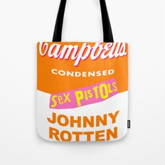 Johnny Rotten Sex Pistols Soup Tote Bag