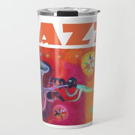 Jazz por Diego Manuel. Travel Mug