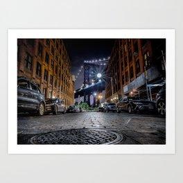 DUMBO, New York City Art Print