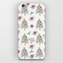 Christmas Pattern iPhone Skin