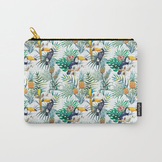 Tropical Summer #10 Carry-All Pouch