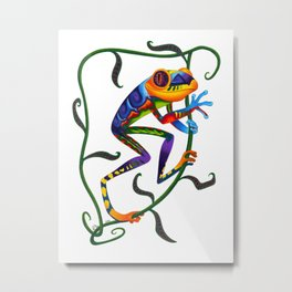 Oaxacan Tree Frog Metal Print