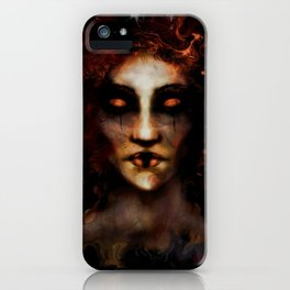 Fire Ghost 2 iPhone Case