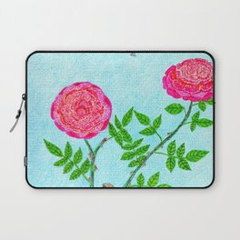 Roses and Seagulls Laptop Sleeve