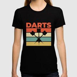 Darts Bullseye Dartboard Dart T-shirt