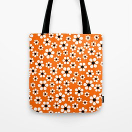 Dizzy Daisies - Orange Tote Bag