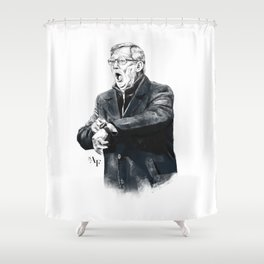 Fergie Time Shower Curtain