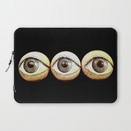 Three Eyes Watching You, Eyeballs Laptop Sleeve
