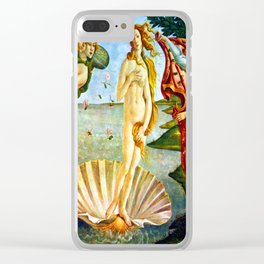 Botticelli The Birth of Venus Clear iPhone Case