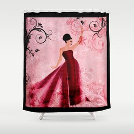Nostalgia Shower Curtain