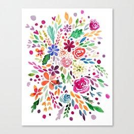 Florals V Canvas Print
