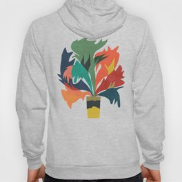 Potted staghorn fern plant Hoody