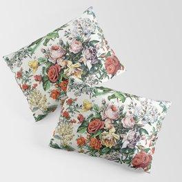 Adolphe Millot - Fleurs C - French vintage poster Pillow Sham
