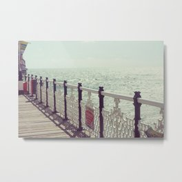 Victorian Pier Metal Print
