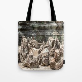 Angkor Wat, Stones in the Courtyard, Cambodia Tote Bag