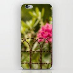 Rusty Fence iPhone & iPod Skin