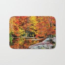 Autumn Reflection Bath Mat