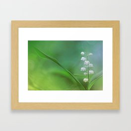 lily of the valley... Framed Art Print
