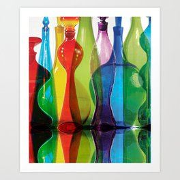 Blenko Reflections Art Print