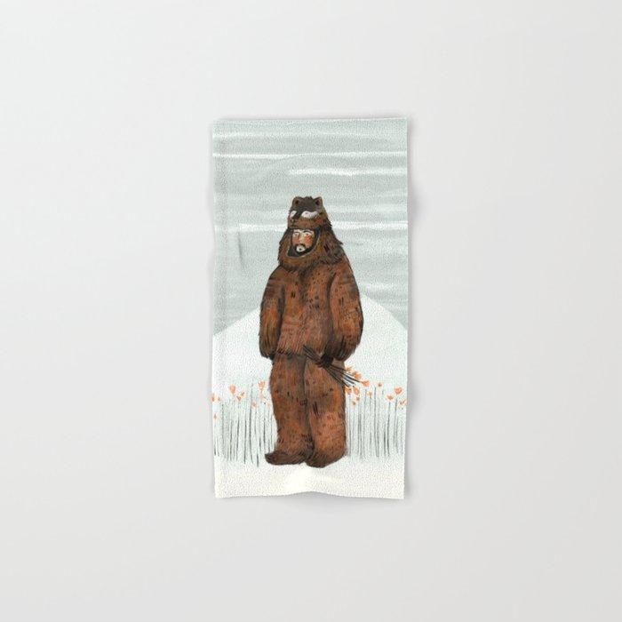 Wilder Mann - The Bear Hand & Bath Towel