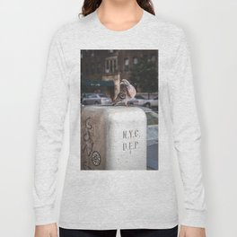 NYC Pigeon Long Sleeve T-shirt
