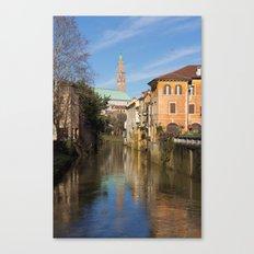 Bridge with a view Canvas Print