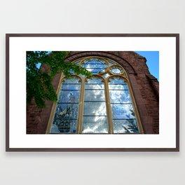 Heavenly Perspective Framed Art Print