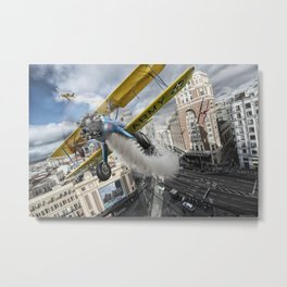 Street Air Race Metal Print