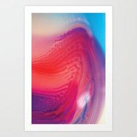 Immiscible Separation Art Print