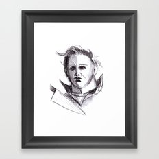 Micheal Myers  Framed Art Print