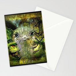 Bird Models: Smirking Ostrich 01-03 Stationery Cards