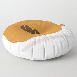 Cup of coffee Floor Pillow
