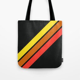 3 Retro Stripes #3 Tote Bag