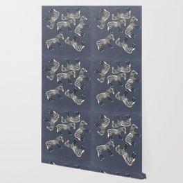 Zebra Pattern DF Wallpaper