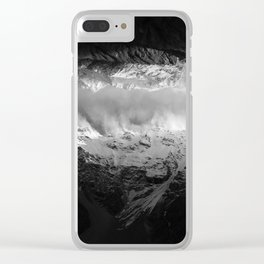 Mt. Cook National Park Clear iPhone Case