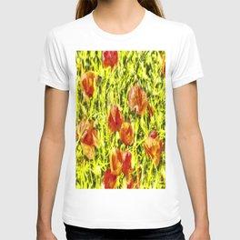 Poppy Watercolour Art T-shirt