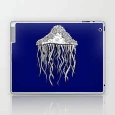 Blue Jellyfish Laptop & iPad Skin