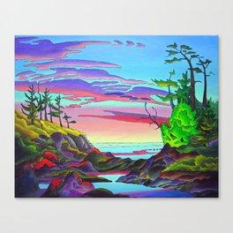 Pacific Pacific by Amanda Martinson Canvas Print
