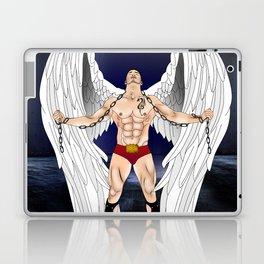 angel comics nude art vector Laptop & iPad Skin