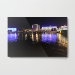 Linz Nights Metal Print